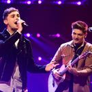 Joe and Jake, the UK's entrants for the 2016 Eurovision Song Contest