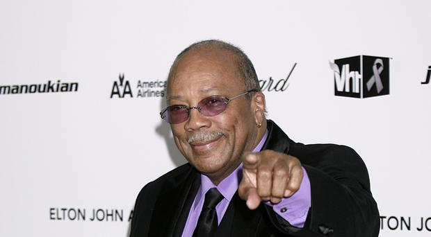 Quincy Jones picked up an award