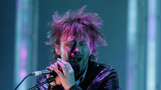 Radiohead are vying for top spot