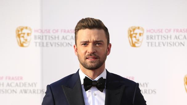 Justin Timberlake looks set to secure the top spot