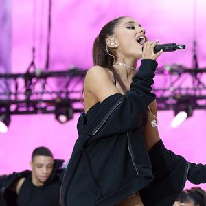 Grande's third studio album features collaborations with Lil Wayne, Macy Gray and Nicki Minaj, and features the singles Dangerous Woman and Into You