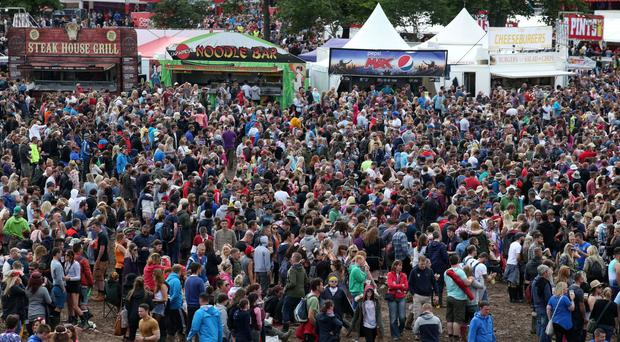 T in the Park festivalgoers have been urged to travel by bus this year
