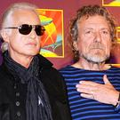 "Jimmy Page and Robert Plant are accused of ""lifting"" the introduction of Stairway To Heaven from a track by American rock band Spirit (AP)"