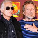 "Jimmy Page, left, with Robert Plant, told the court he ""liked"" Spirit in the late 1960s but he only became aware of the song Taurus in recent years (AP)"