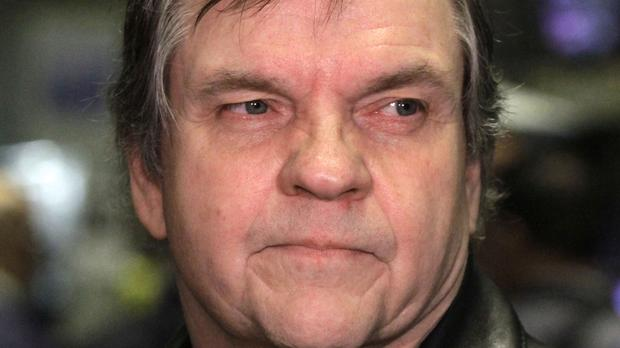 Meat Loaf, pictured in 2010, collapsed during a concert in Canada on Thursday night (AP)