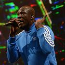 Stormzy paid tribute to Grenfell victims (Ben Birchall/PA)