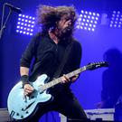 Foo Fighters played Glastonbury (Ben Birchall/PA)