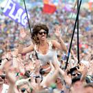 Glastonbury drew in record numbers of viewers (Ben Birchall/PA)