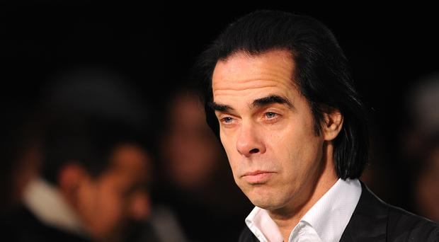 Nick Cave finished his US tour in Los Angeles (Dominic Lipinski/PA)