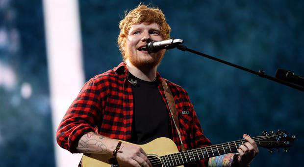 Ed Sheeran will perform in Belfast next year (Yui Mok/PA)
