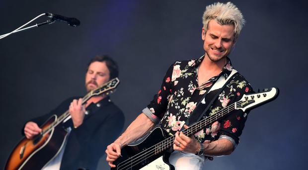 Kings Of Leon played Hyde Park (Ian West/PA)