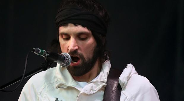 ergio Pizzorno of Kasabian performs at the TRNSMT festival in Glasgow (Andrew Milligan/PA)