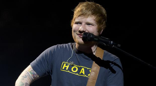 Ed Sheeran will join an ambitious global gig campaign for Amnesty International (PA)