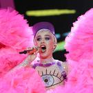 Katy Perry is hosting the MTV VMAs (Yui Mok/PA)