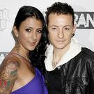 Chester Bennington's wife has paid an emotional tribute (Yui Mok/PA)