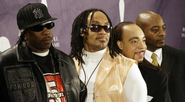 The Kidd Creole (second from right) was a founding member of (Grandmaster Flash and The Furious Five Stuart Ramson/AP)