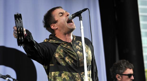 Liam Gallagher apologises for walking off stage at festival (Rob Grabowski/AP/PA)