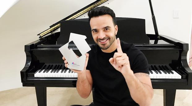 Luis Fonsi (Official Charts Company/PA)