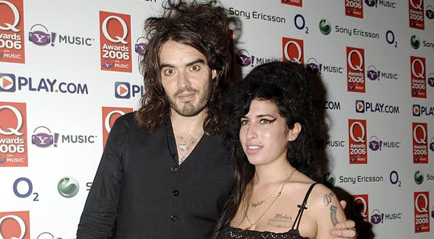Amy Winehouse and Russell Brand in 2006 (Yui Mok/PA)