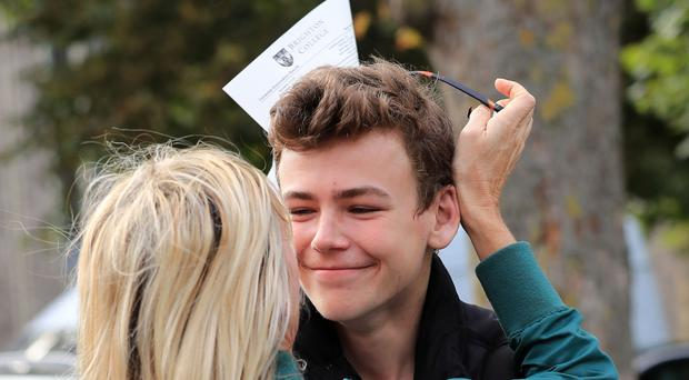 Woody with mother Zoe Ball