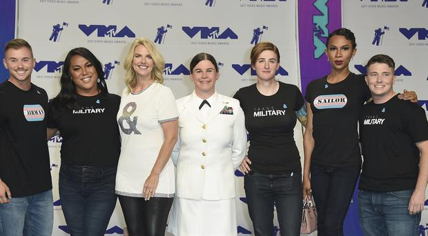 Transgender troops at the MTV Video Music Awards