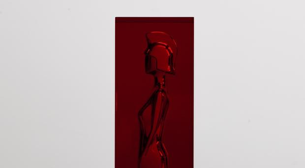 The 2018 Brit Award designed by Sir Anish Kapoor (ITV/PA)