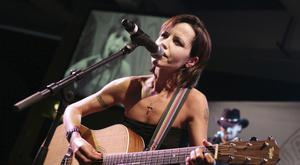 Dolores O'Riordan was lead singer with the Cranberries (Bruno Bebert/AP/PA)
