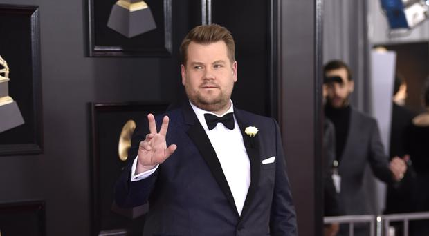 James Corden at the Grammys (Evan Agostini/Invision/AP)