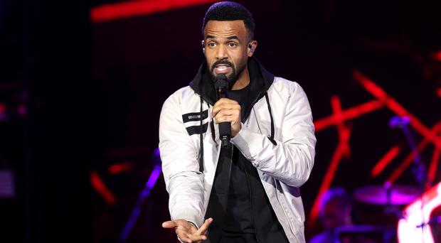 Craig David must defeat The Greatest Showman soundtrack to top chart (Isabel Infantes/PA)