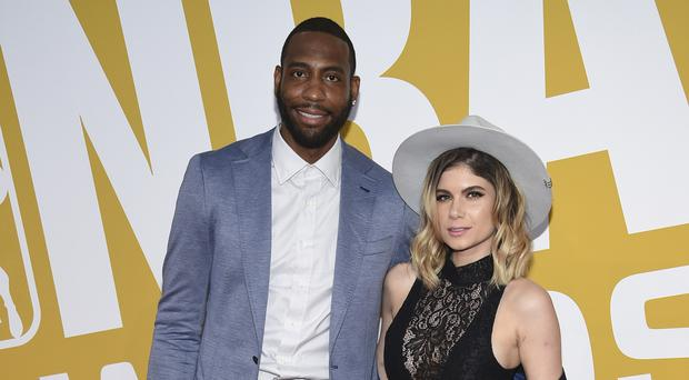 Rasual Butler and his wife Leah LaBelle
