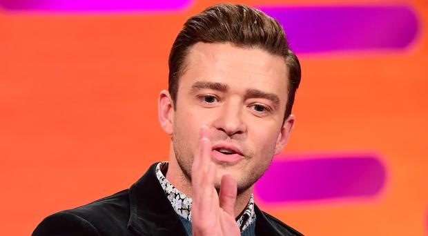 Justin Timberlake is doing the Super Bowl half-time show on Sunday (Ian West/PA)