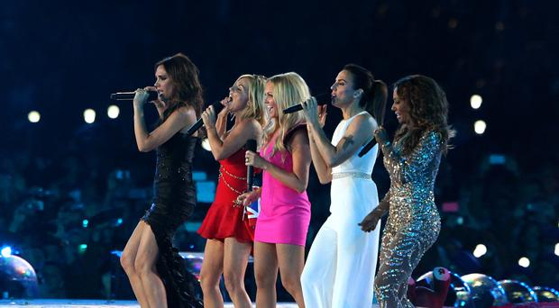 The Spice Girls (Andrew Milligan/PA)