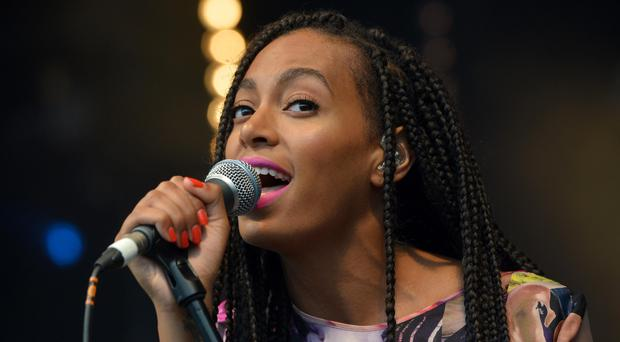 Solange Knowles (Anthony Devlin/PA)
