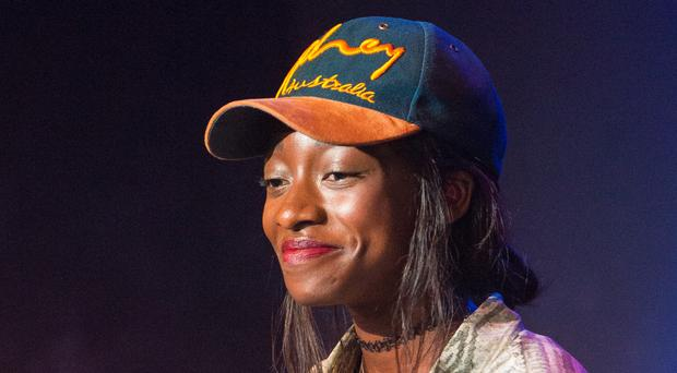 Little Simz (Dominic Lipinski/PA)