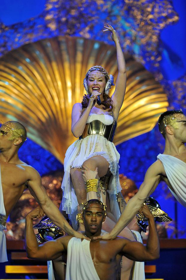 Kylie Minogue in concert