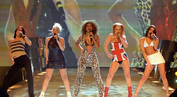 The Spice Girls (Fiona Hanson/PA)