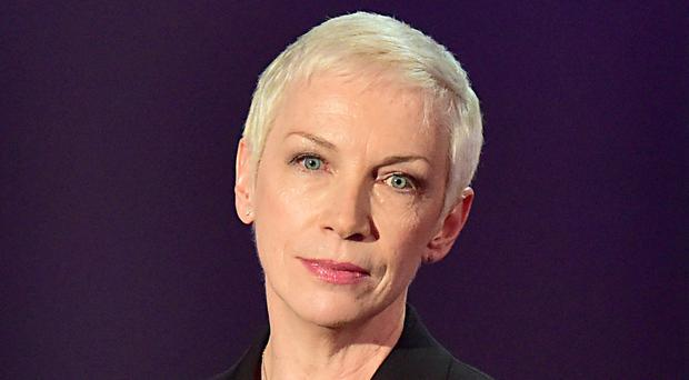Annie Lennox has vowed to continue supporting Oxfam (Dominic Lipinski/PA)