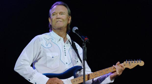 Glenn Campbell died last year (PA)