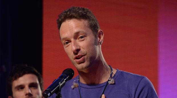 Chris Martin of Coldplay (PA)