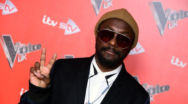 Will.i.am is a coach on The Voice UK and The Voice UK Kids (Ian West/PA)