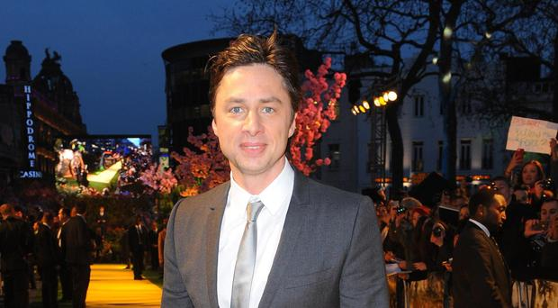 Zach Braff (Ian West/PA)