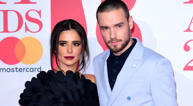 Cheryl and Liam Payne (Ian West/PA)