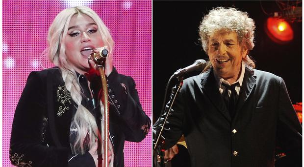 Kesha and Bob Dylan have re-imagined songs to honour the LGBTQ community. (AP)