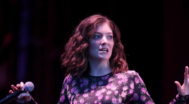Lorde said she was 'so sorry for offending anyone' (Yui Mok/PA)