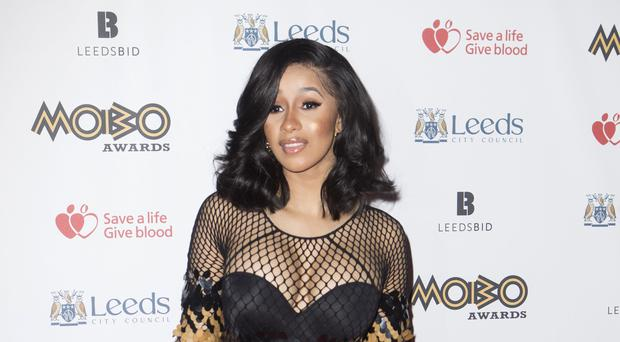 Rapper Cardi B confirms pregnancy on Saturday Night Live (Danny Lawson/PA)