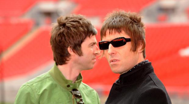 Gallagher brothers (Zak Hussein/PA)