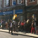 Shoppers pack the Love Vinyl record shop in Hoxton, east London (John Stillwell/PA)