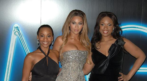 (Left to right); Anika Noni Rose, Beyonce and Jennifer Hudson at the UK Premiere of Dreamgirls (Ian West/PA)