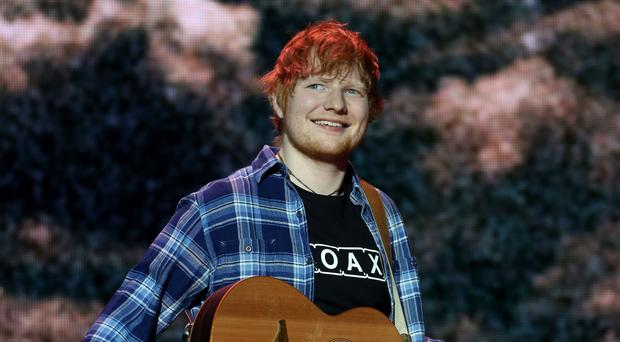 Ed Sheeran has an overall net wealth of £80 million, according to The Sunday Times Rich List (Isabel Infantes/PA)