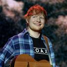 Ed Sheeran has 15 nominations at the Billboard Music Awards, the joint most of anyone on the night (Isabel Infantes/PA)